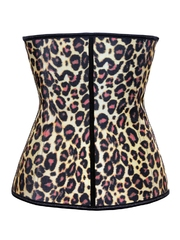 C445-99 Corset model animal print cu inchidere tip mos-baba