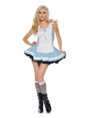 P311 Costum Halloween Alice in Tara Minunilor