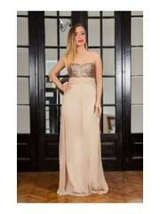 Rochie Long Attraction Cappuccino
