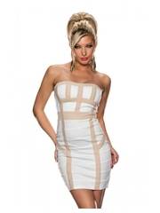 Rochie Special Lines White