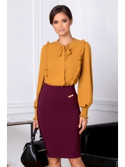 Fusta LaDonna Misty office bordo