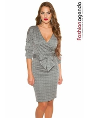 Rochie Office Grey Shade