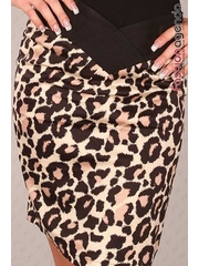 Fusta Emerson Animal Print