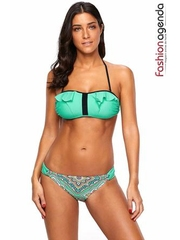 Costum de Baie Apollo Green